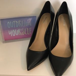 Sexy to the Core Black Heels